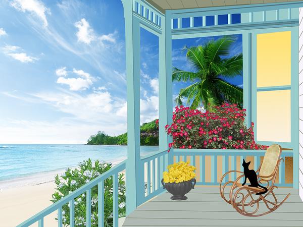 domki nad morzem z placem zabaw