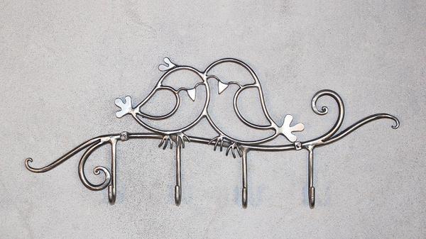 ozdoba na ścianę z metalu